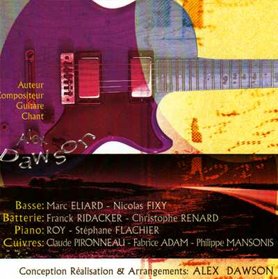 CD Myster - Alex Dawson - back cover
